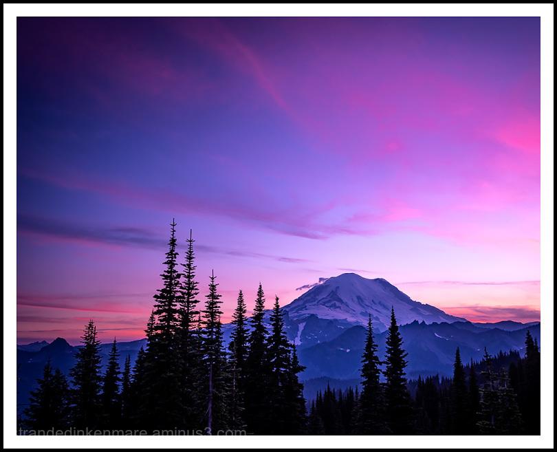 Sunset from Naches Peak