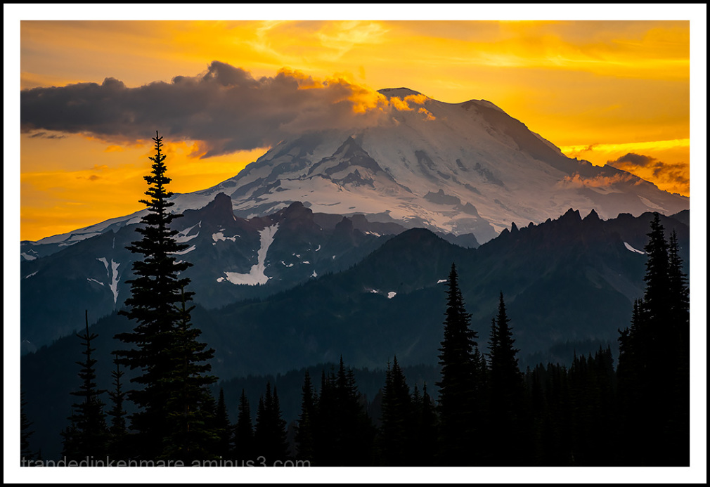 Mt. Rainier from Naches Peak Trail