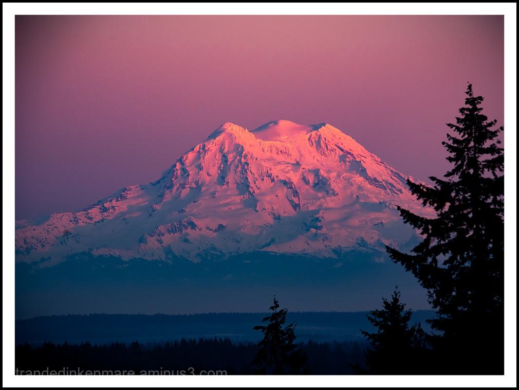 Rainier Sunset
