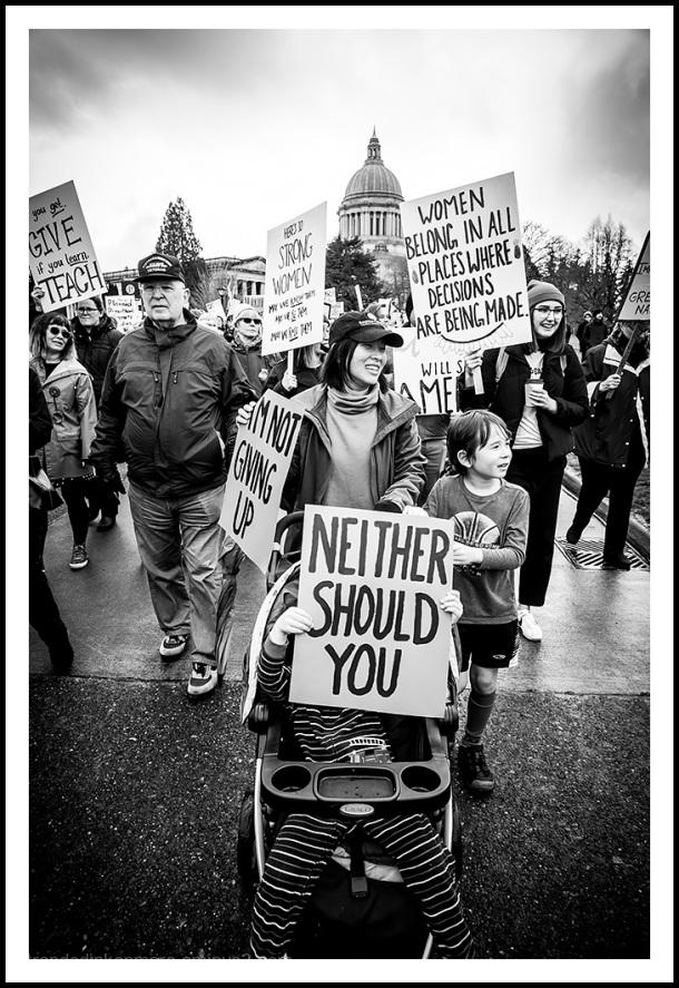 Women & Allies Marching