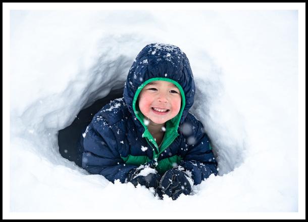my snow cave!