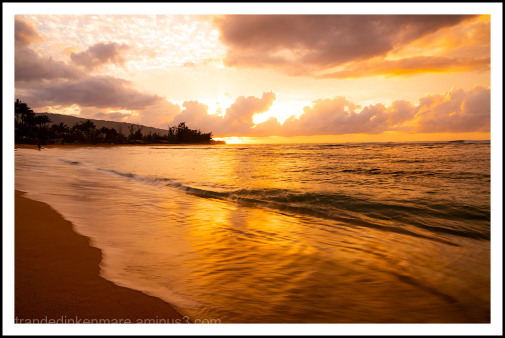 North Shore Sunrise, Oahu