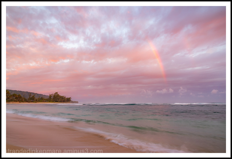 North Shore Rainbow, Oahu