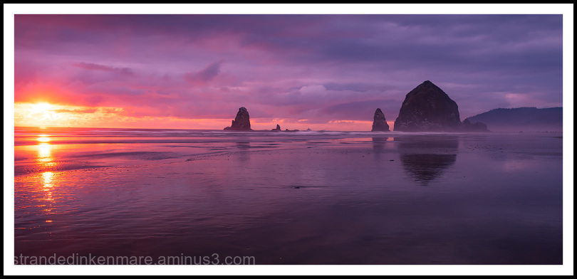 Cannon Beach Adventure Sunset