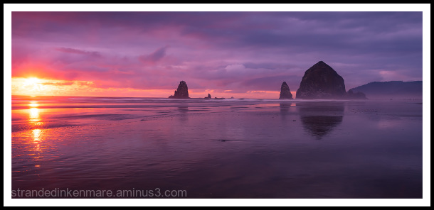 Cannon Beach Adventure Sunset