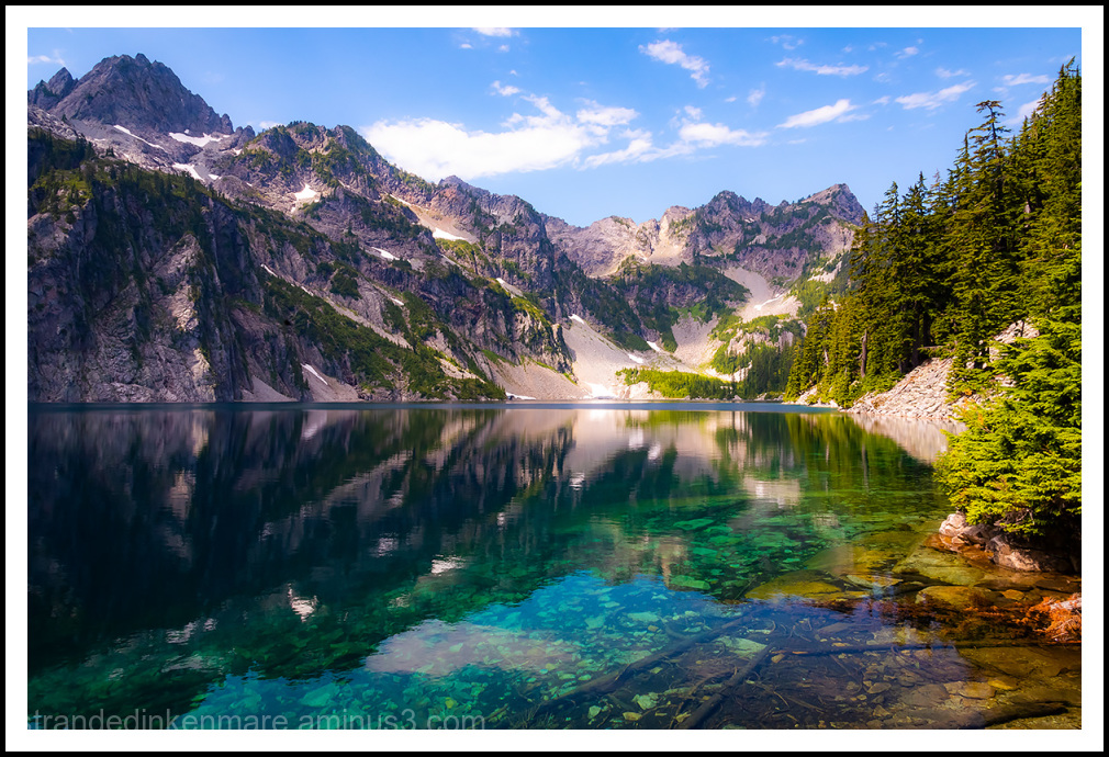 The Awesome Snow Lake
