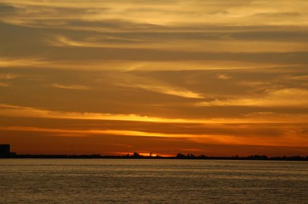 Gandy Bridge sunset