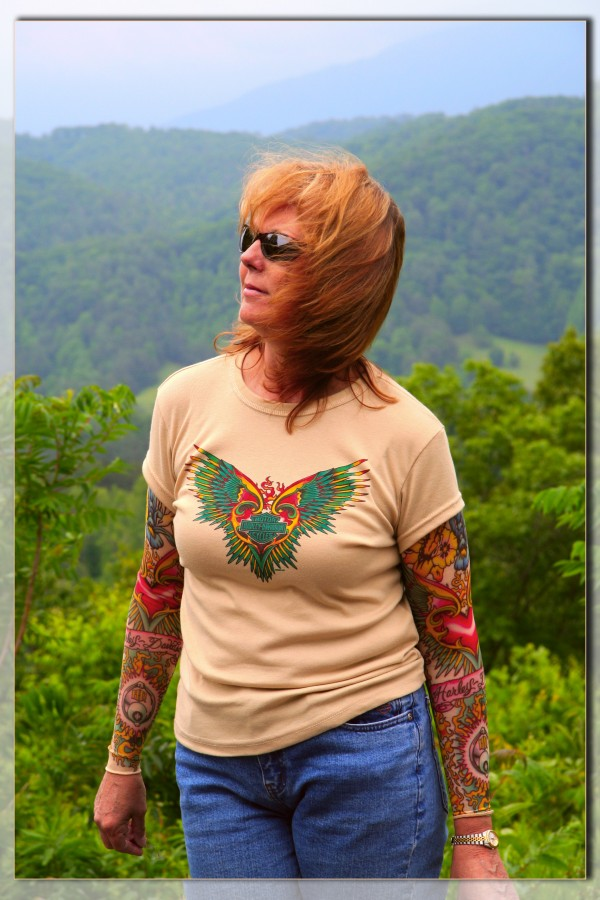 Linda in the Smokies