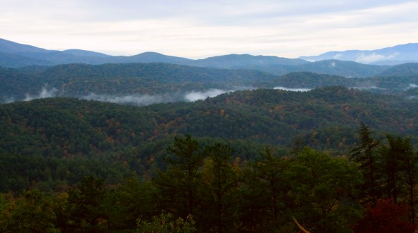 Clouds in the Smokies