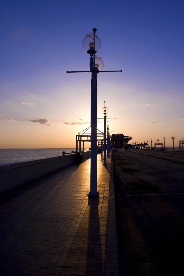 Early AM St Petersburg Pier