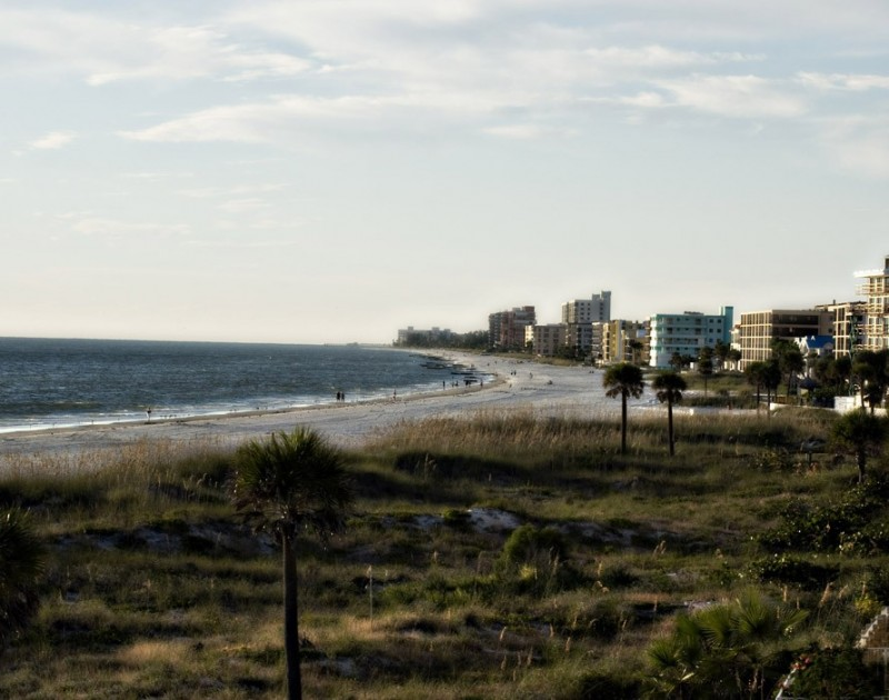 Winter at Madeira Beach