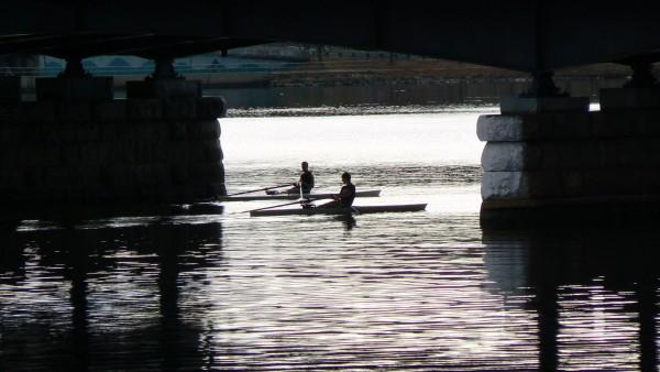 Row in Shadow