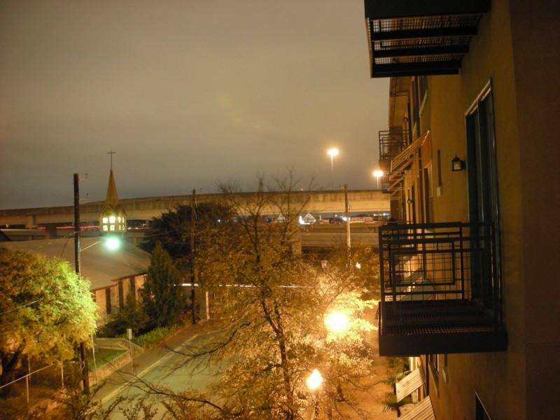 from my balcony