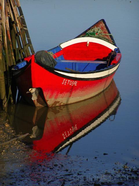 Barco vermelho