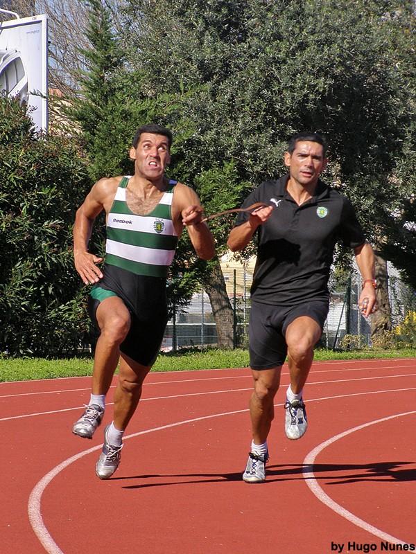 Just Running!