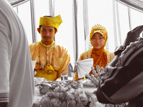 "Malay Wedding - ""Makan Beradab"""