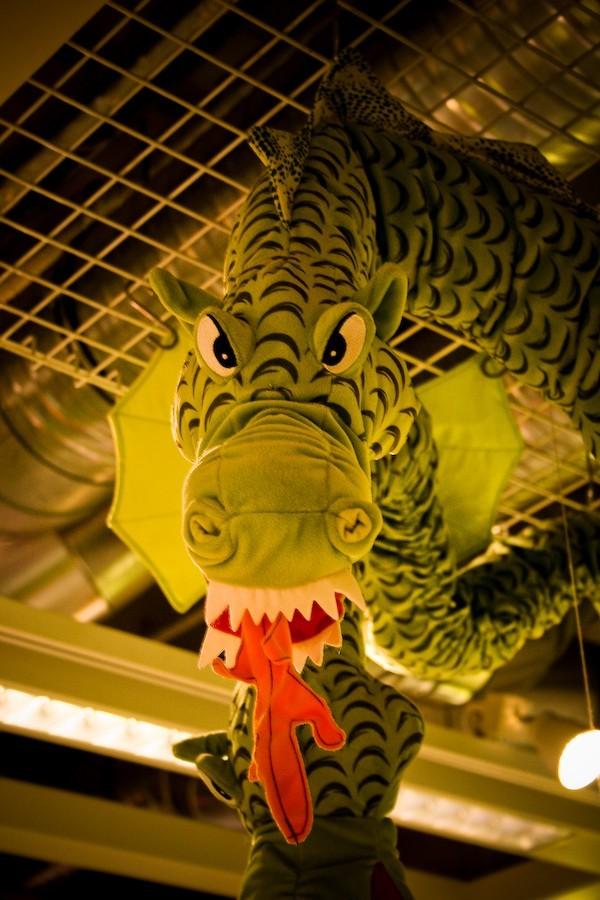 IKEA dragon