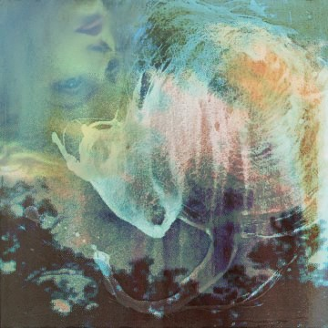 surreal, abstract, woman, tree, triple exposure