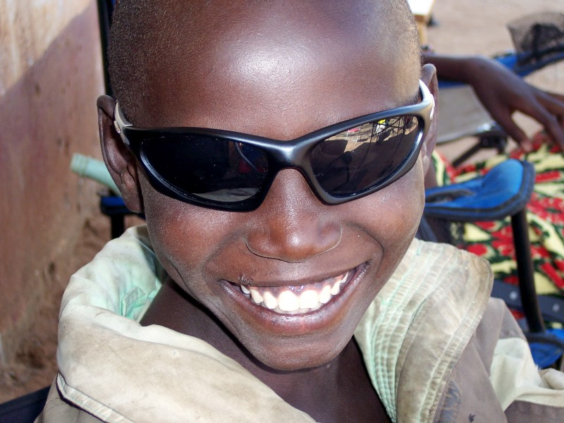 A young Kenyan boy who became one of my friends.
