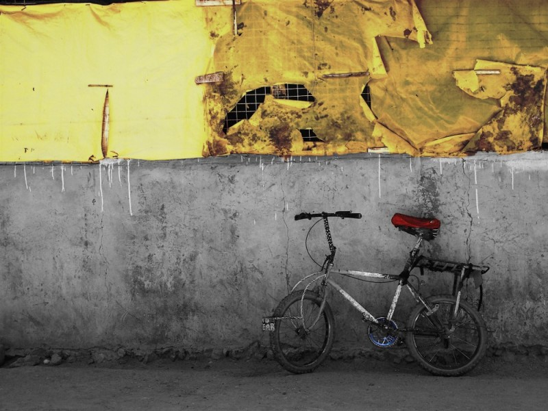 A cool bike.