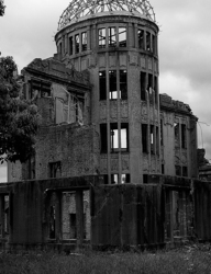 An eternal reminder of the atomic bombing.