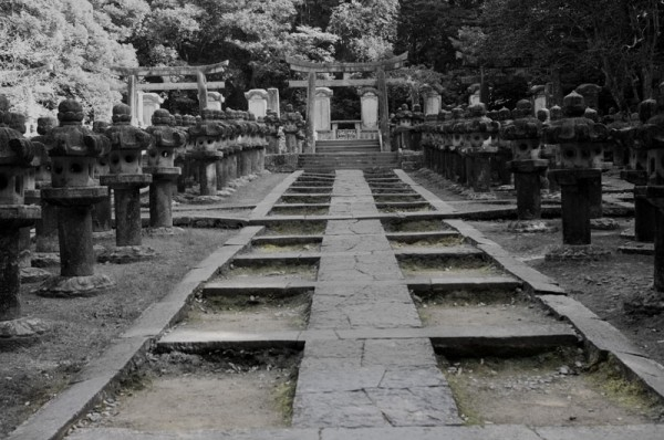 Graves of the Mori Lords at Toko-ji.