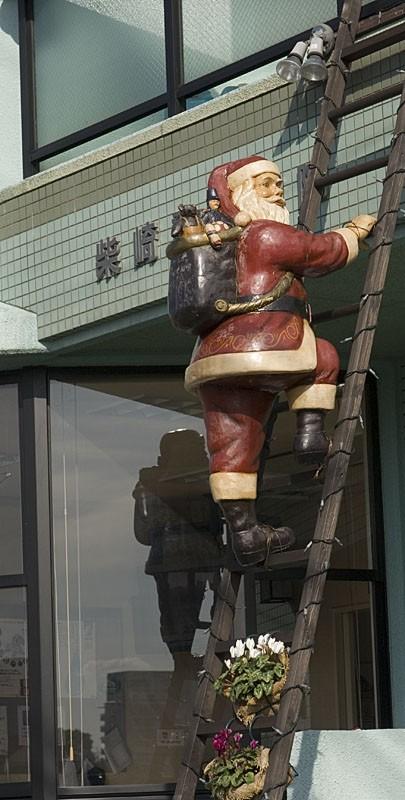 Santa Claus in Hiroshima.
