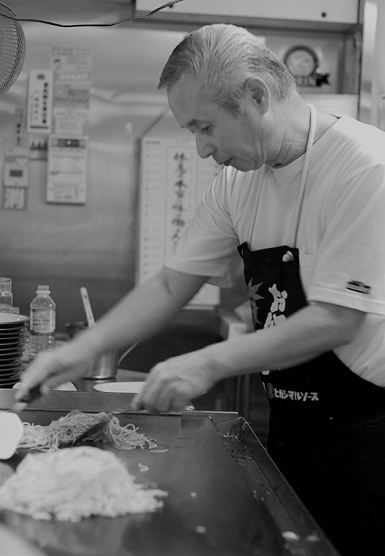 The Okonomiyaki Master.