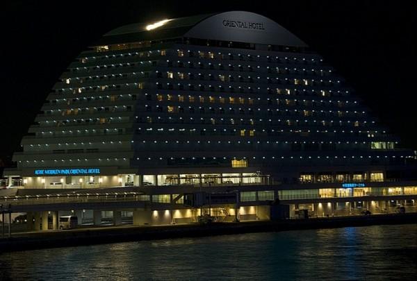 The Oriental Hotel in Kobe.