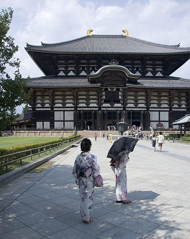 Todai-ji in Nara, Japan.
