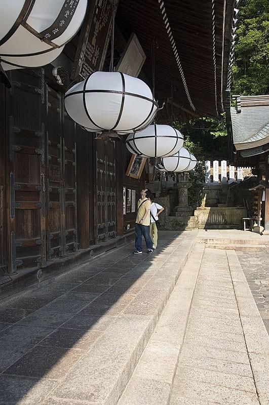 Lanterns at Todai-ji.