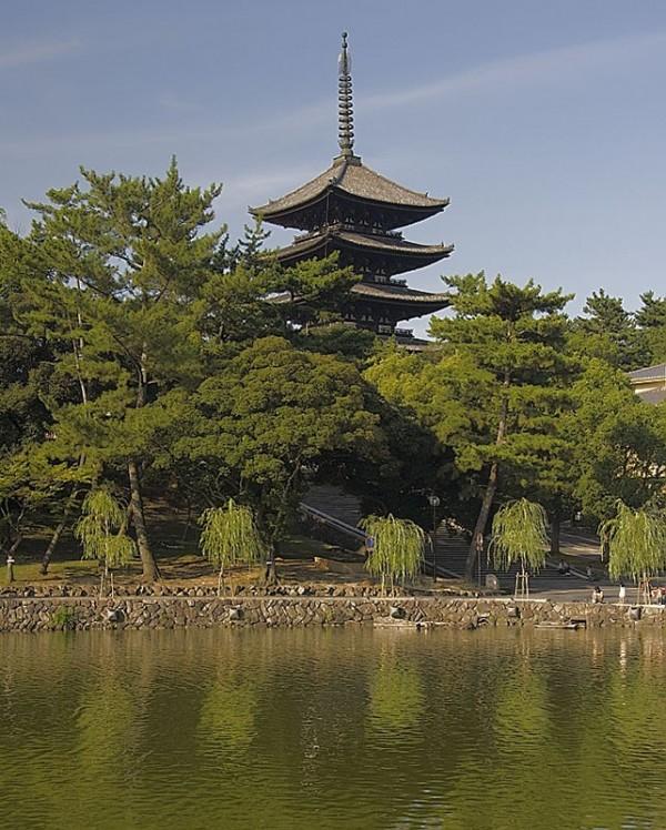 Pagoda at Kofuku ji