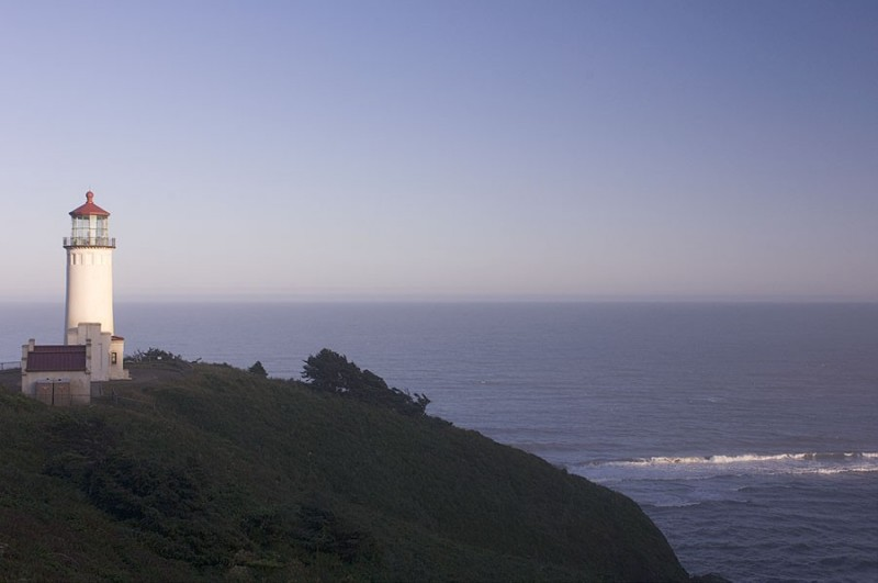 The lighthouse at Cape Disappointment.