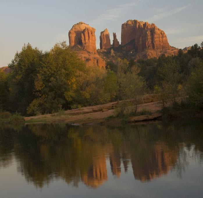 Cathedral Rock in Sedona, AZ.