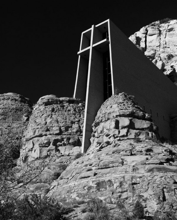 Chapel among the rocks.