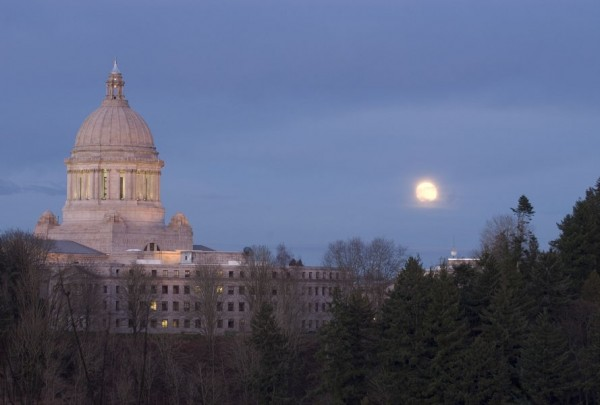 The Capitol in Olympia, WA.