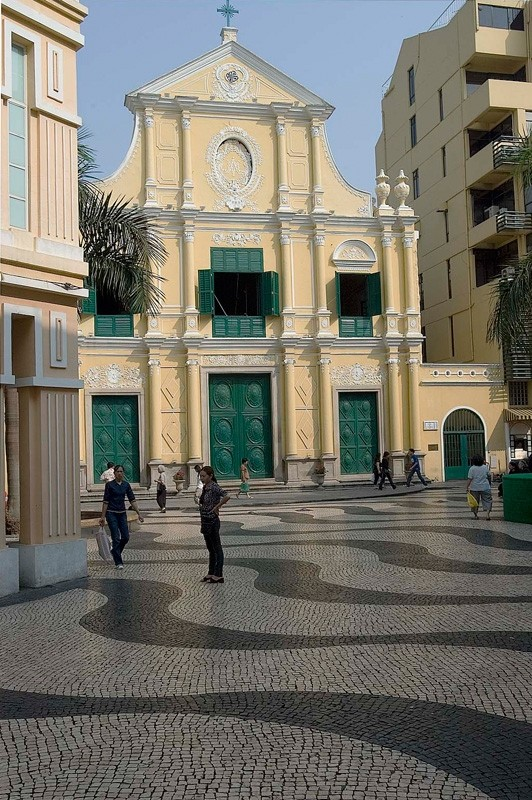 Church of Saint Dominic in Macau.