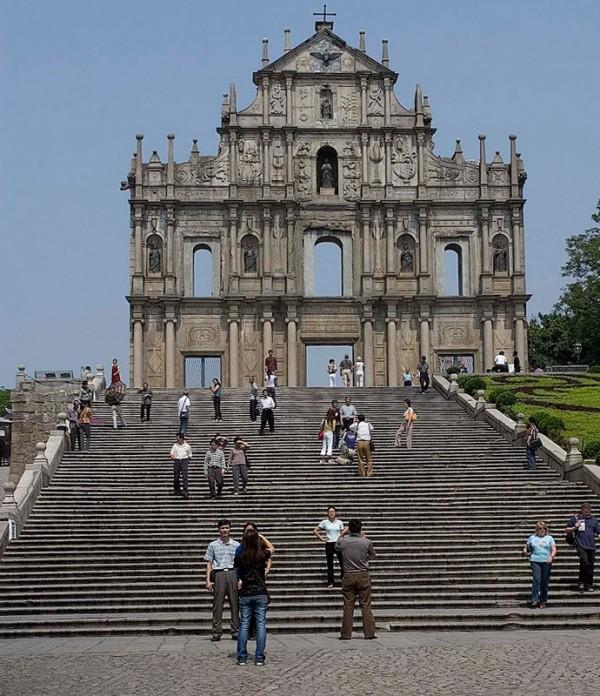 Church of Saint Paul in Macau.