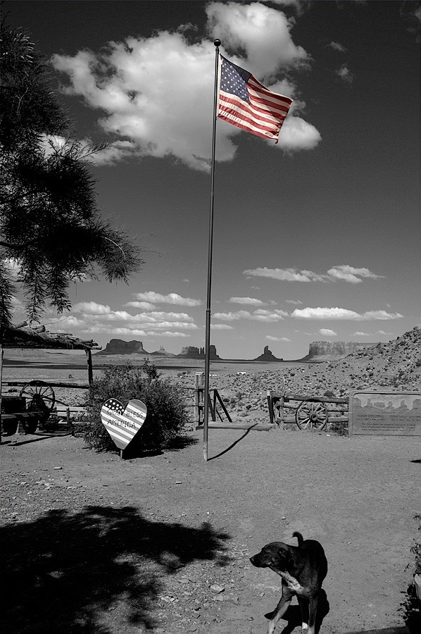 """An image of the """"Great American West""""."""