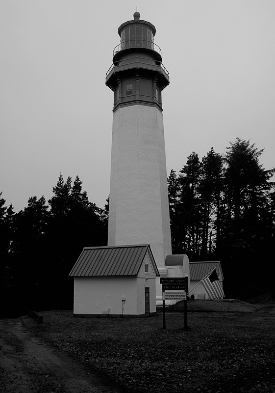 The Grays Harbor Lightstation.