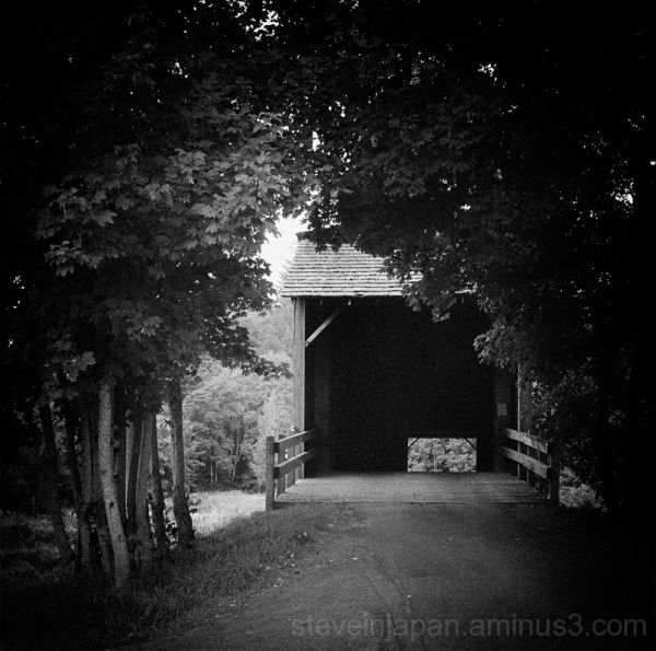 The Grays River Covered Bridge.