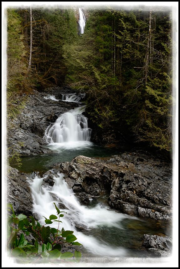 The Lower and Middle Wallace Falls.