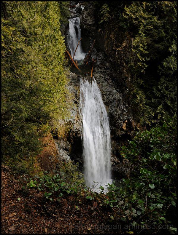 Upper Wallace Falls.