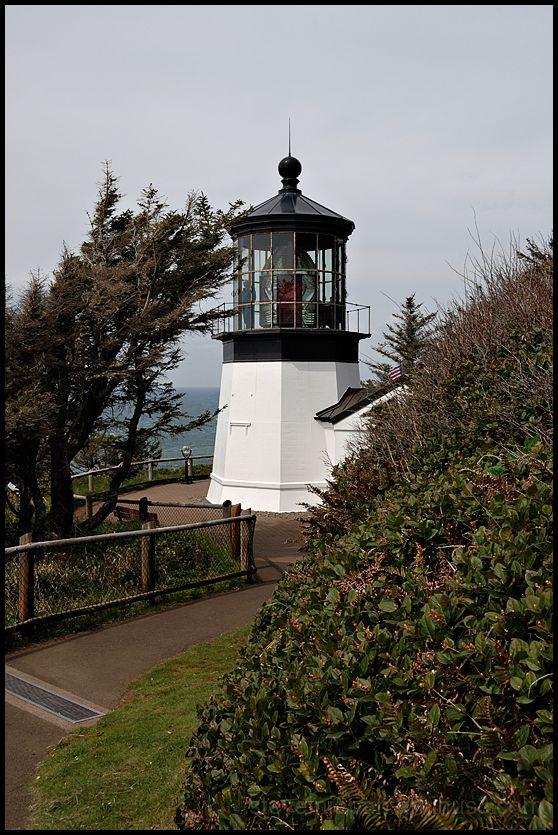 Cape Meares Lighthouse on the Oreagon coast.