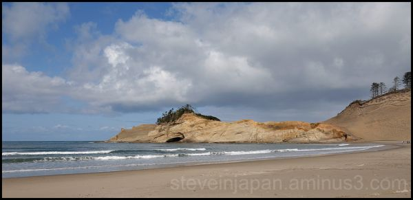 Cape Kiwanda on the Oregon coast.