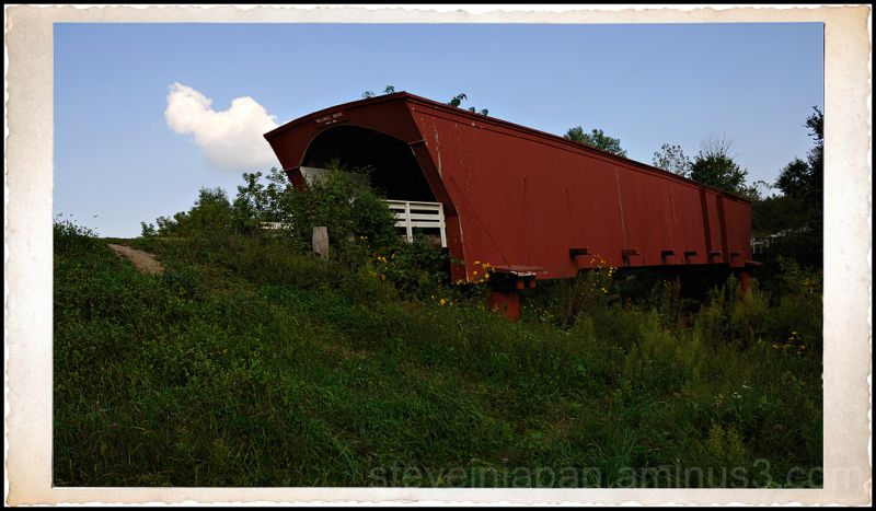 The Holliwell covered bridge in Madison County.