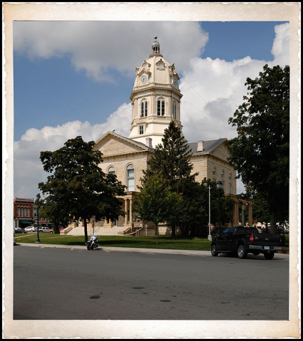 The Madison County Courthouse in Winterset, IA.