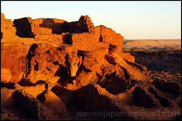Wupatki Pueblo at Wupatki National Monument.