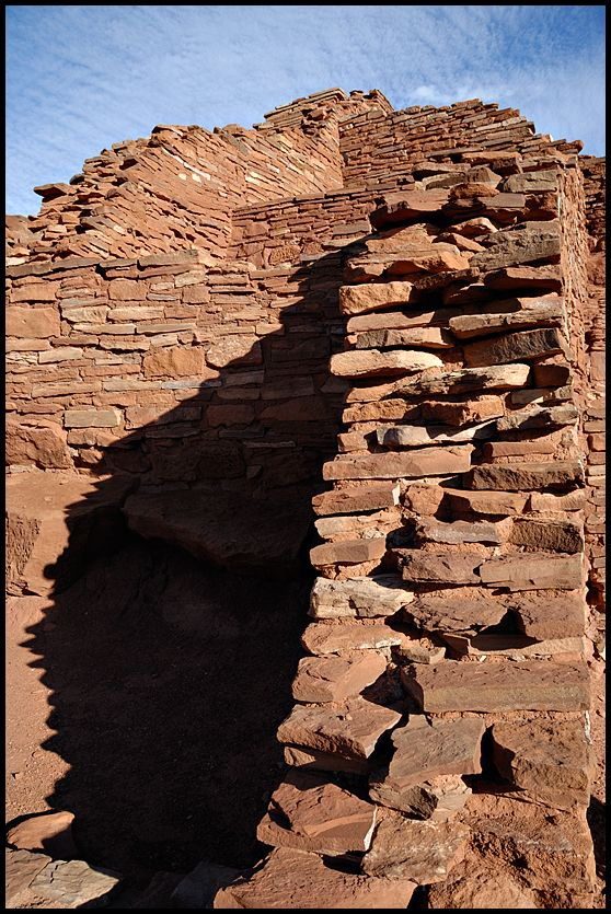 Wupatki Pueblo at Wupatki National Monument.
