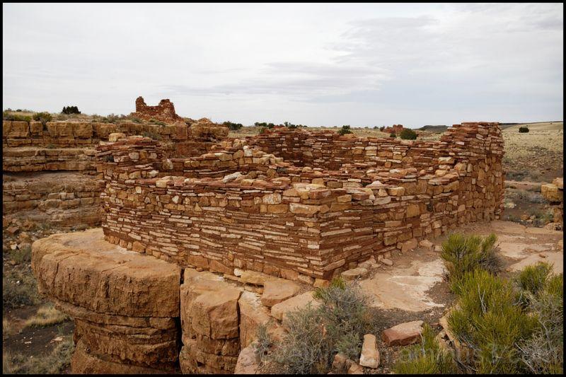 Box Canyon house at Wupatki National Monument.